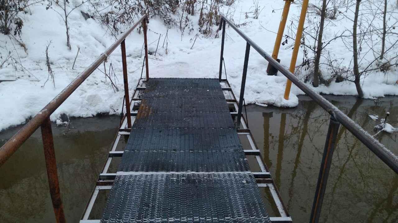 Мост для жителей п. Першино