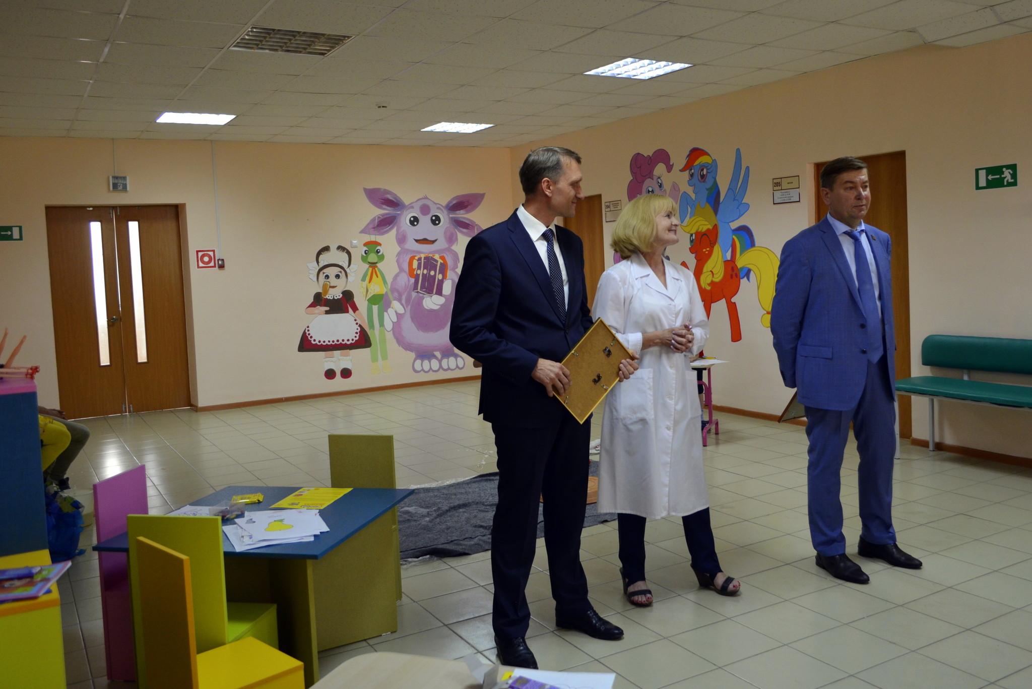 «Островок здоровья» в поликлинике ДГКБ №8